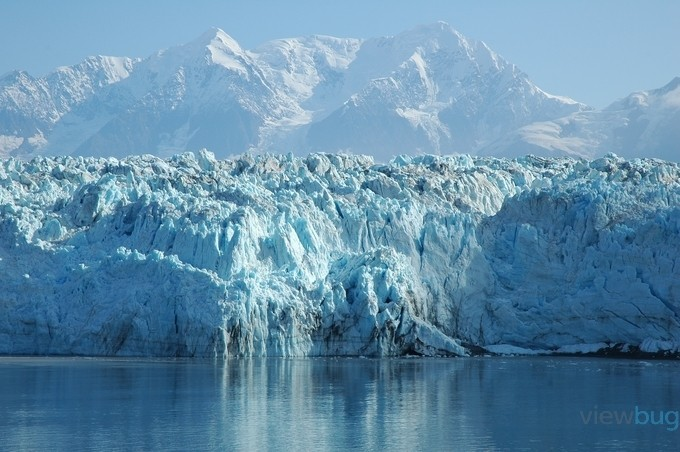 Hubbard Glacier by deborahv - A World Of Blue Photo Contest
