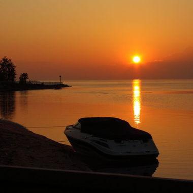 Lac Saint-Jean sunset :)