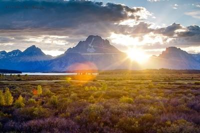Mt-Moran-Sunset-III