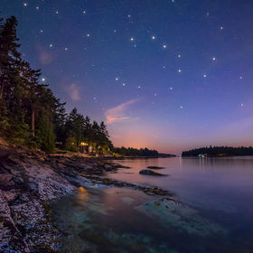 I was hoping to get some photos of the milky way from Galiano Island but the light pollution from Vancouver make it pretty hard.  However, there ...