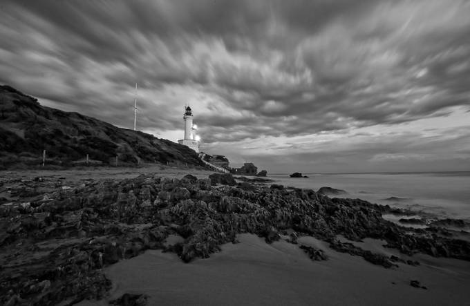 The Lighthouse by daniellepowell - Cloud Painting Photo Contest