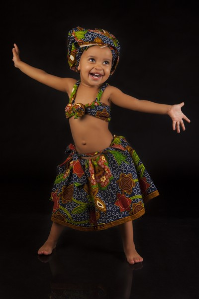 Little African Dancer