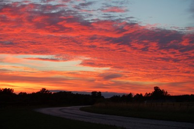 Teesside Sunset