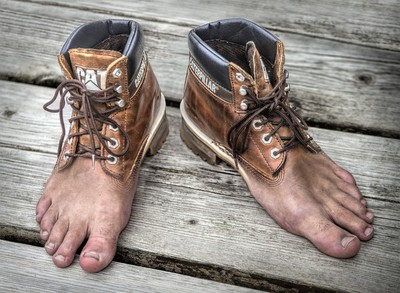 THESE OLD BOOTS