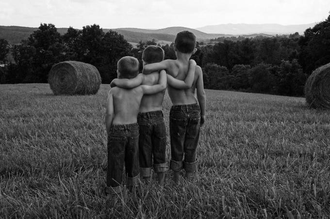 Brothers by lekeciasteelelee - Black And White Compositions Photo Contest