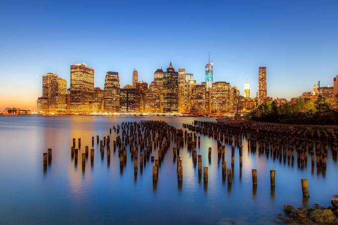 New York by Night by thomaslhoest - Photofocus Feature Photo Contest Volume 1