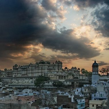 Udaipur before the rain