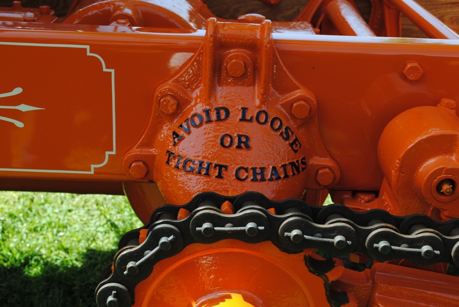 Avoid Loose or Tight Chain