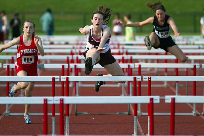 Hurdles by christopherbrearley - Healthy Lifestyles Photo Contest