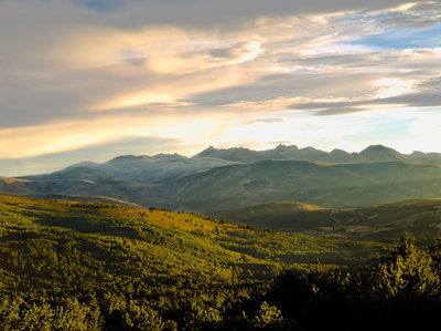 Sierra de Gredos desde el Parador