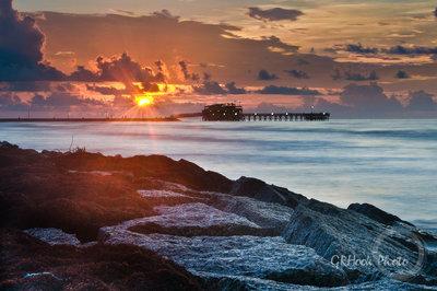 Galveston Sunrise 1