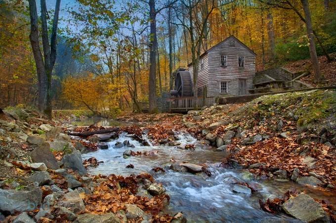 Rice Grist Mill by clfowler - HDR Landscapes Photo Contest