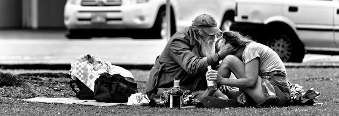 Homeless Heartache by HastingsAFranks - City Life In Black And White Photo Contest