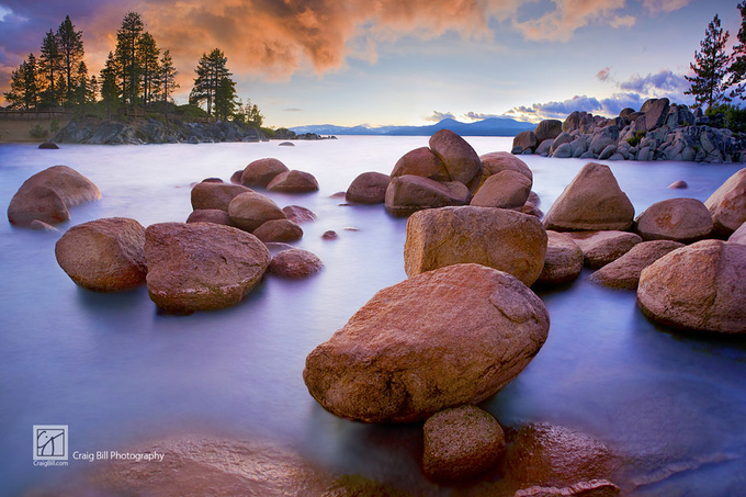 Twilight Cove by CraigBill - Spectacular Lakes Photo Contest