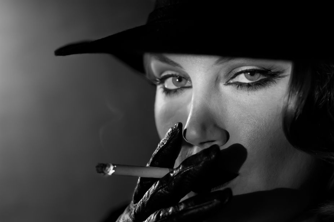 Noir by IDJones - Dramatic Portraits Photo Contest