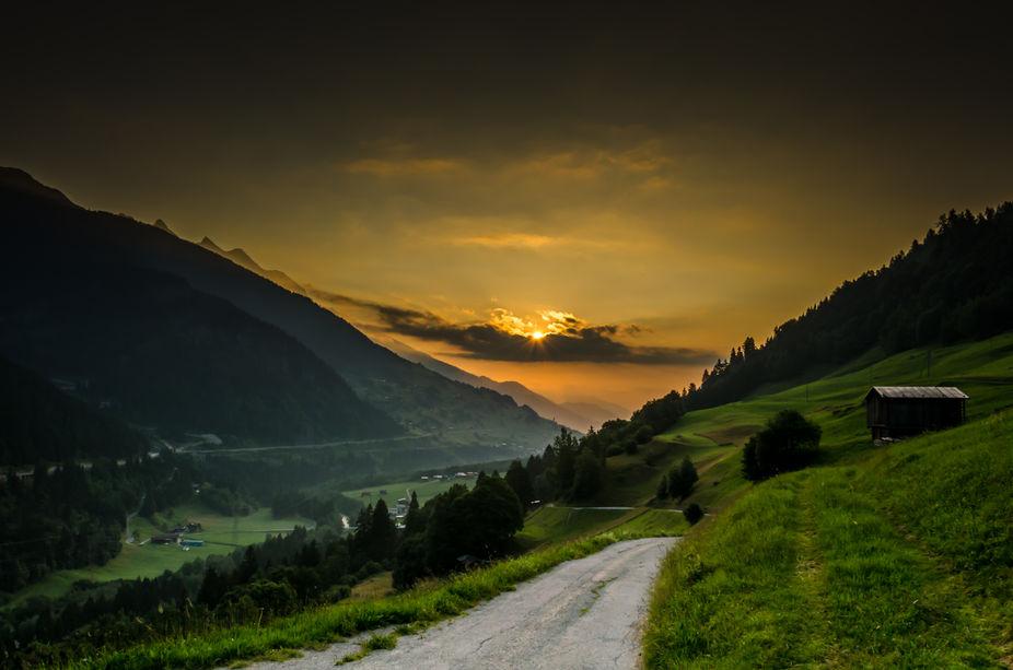 Shot in Cavardiras Switzerland