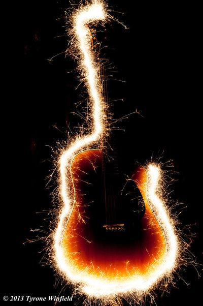 Sparkling Guitar