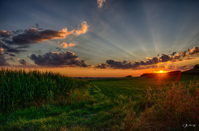Heavenly Sunset -old