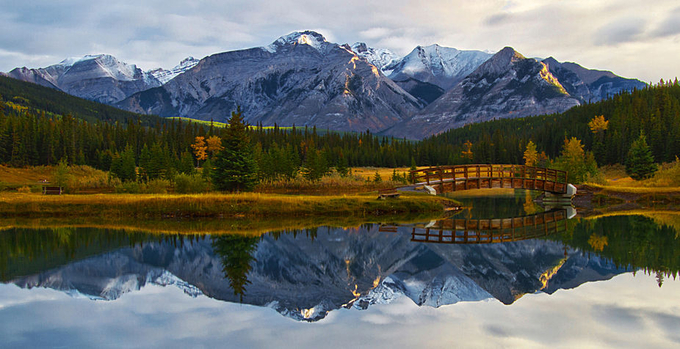Rocky Reflections by patrick9x9 - Nature In HDR Photo Contest