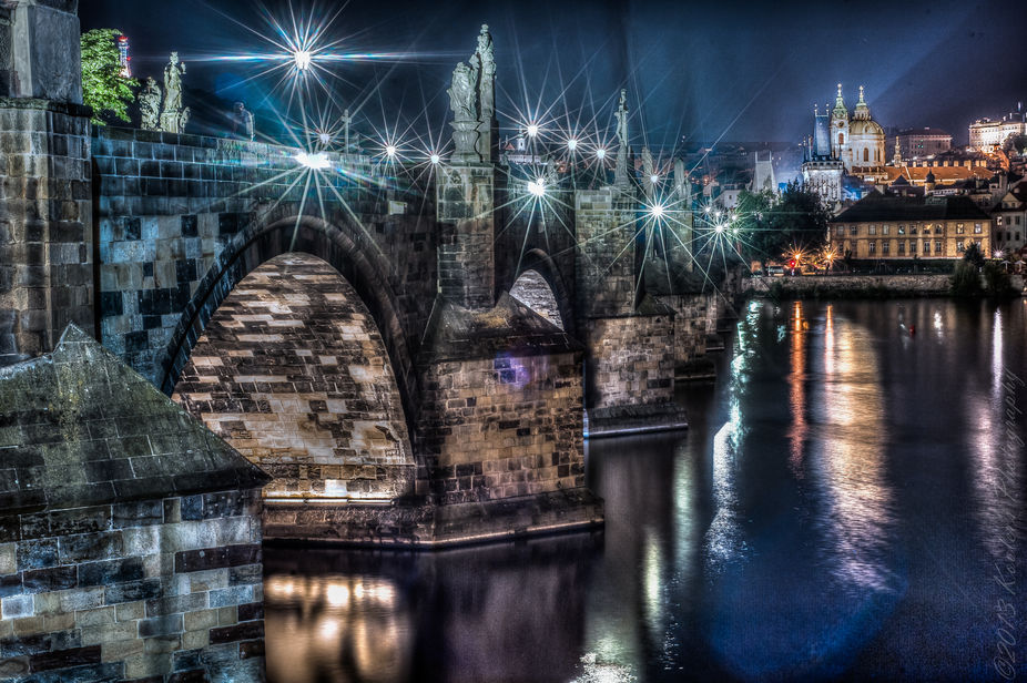 The Charles Bridge (Czech: Karlův most About this sound listen (help·info)) is a famous histori...