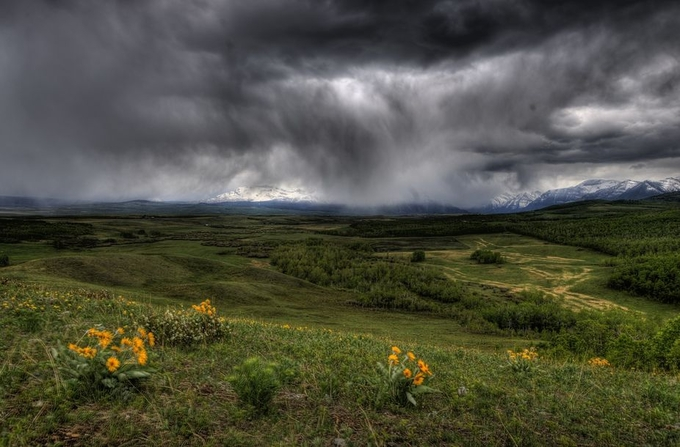 Spring storm by mattspeight - Rural Vistas Photo Contest