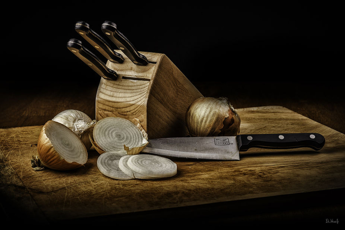 Knives and Onions by DonHoekwater - Commercial Style Photo Contest