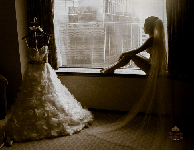 My Groom Waits by PhotographyByBenamoz - Here Comes The Bride Photo Contest