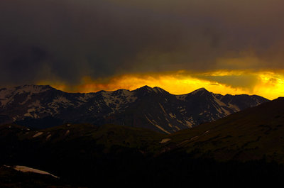 Fourteener Sunset