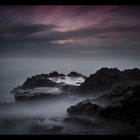 Tomahawk beach, Dunedin, New Zealand. 2min@f16, 10stop ND + 4 stop grad ND filters