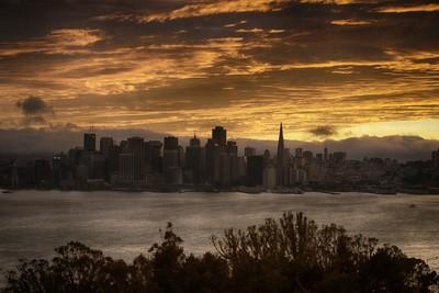 SF City Sunset
