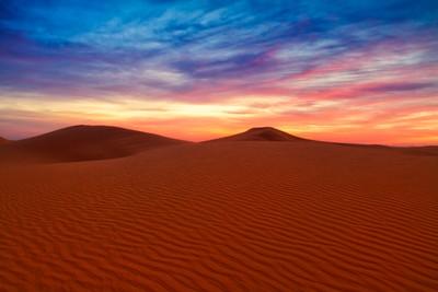 Dunes of Arabia at Dawn