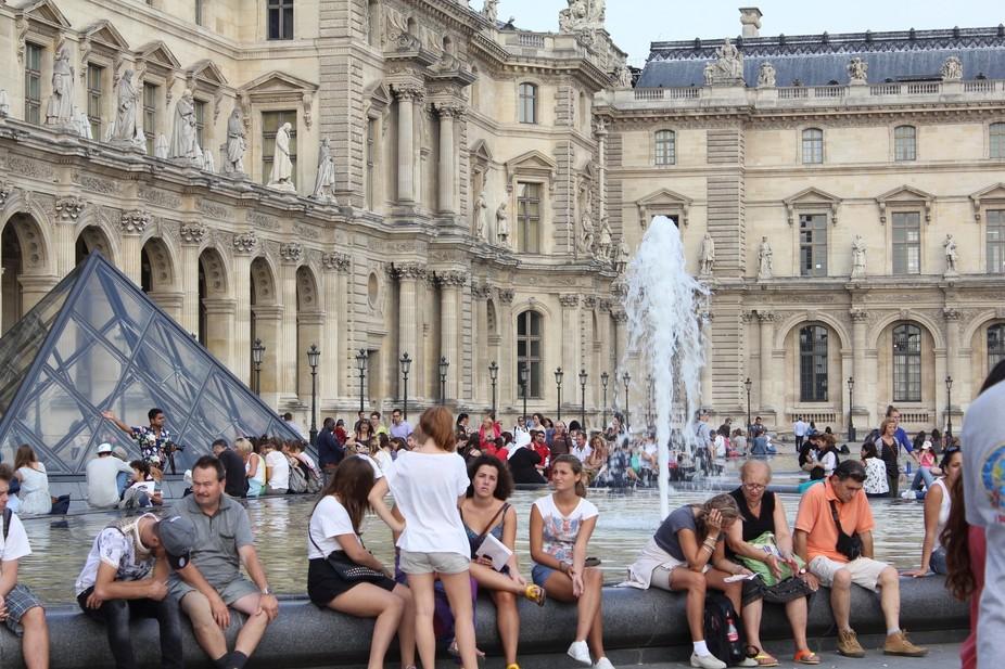 Tourists meetup