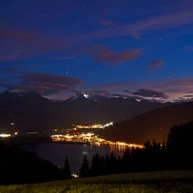 View over Zell Am See and Shuttdorf towards Kaprun