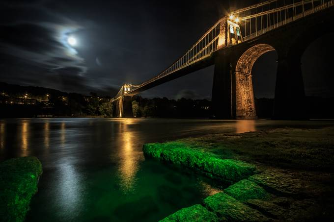Menai Bridge by jonnywilliams - Under The Bridge Photo Contest