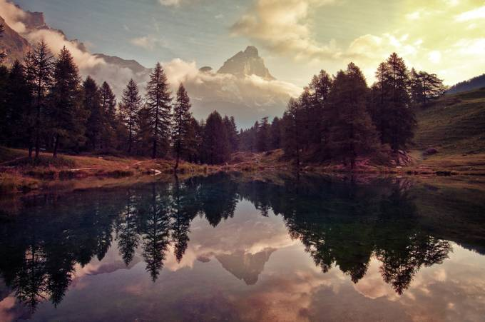 Sunrise over the Matterhorn by MattSelbyPhotography - Fall 2017 Photo Contest