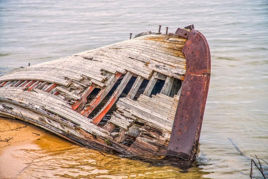Old Boat in U.P. Michigan