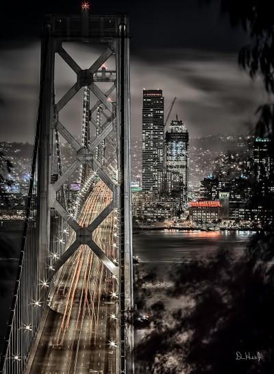 Bay Bridge into The City