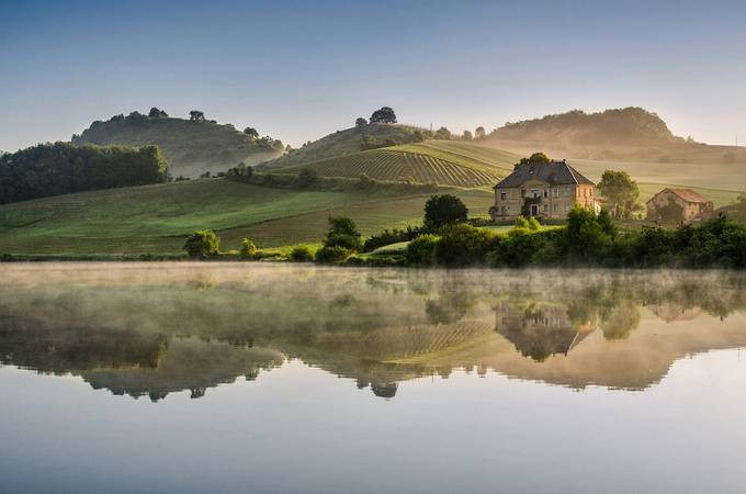 Morning reflections by saintek - Biggest Photofocus Photo Contest
