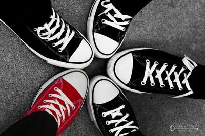 Black Shoe - Rebecca Nash Photography - London, Ontario