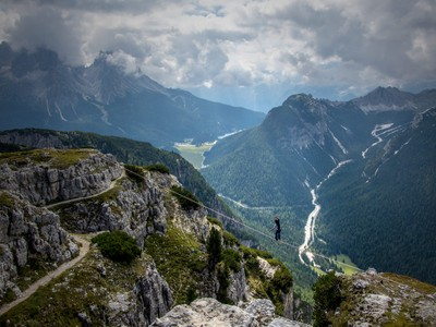 Highlining Monte Piana
