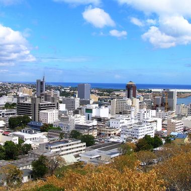 City of Port Louis from Citadelle