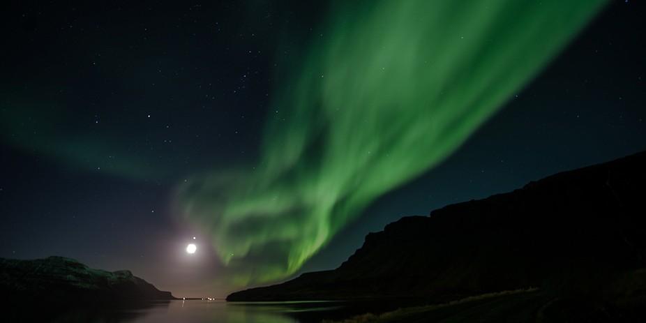 Aurora Borealis, North of Iceland