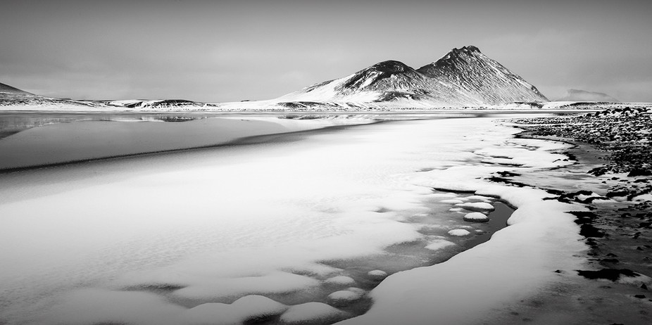 Winter climes in Iceland