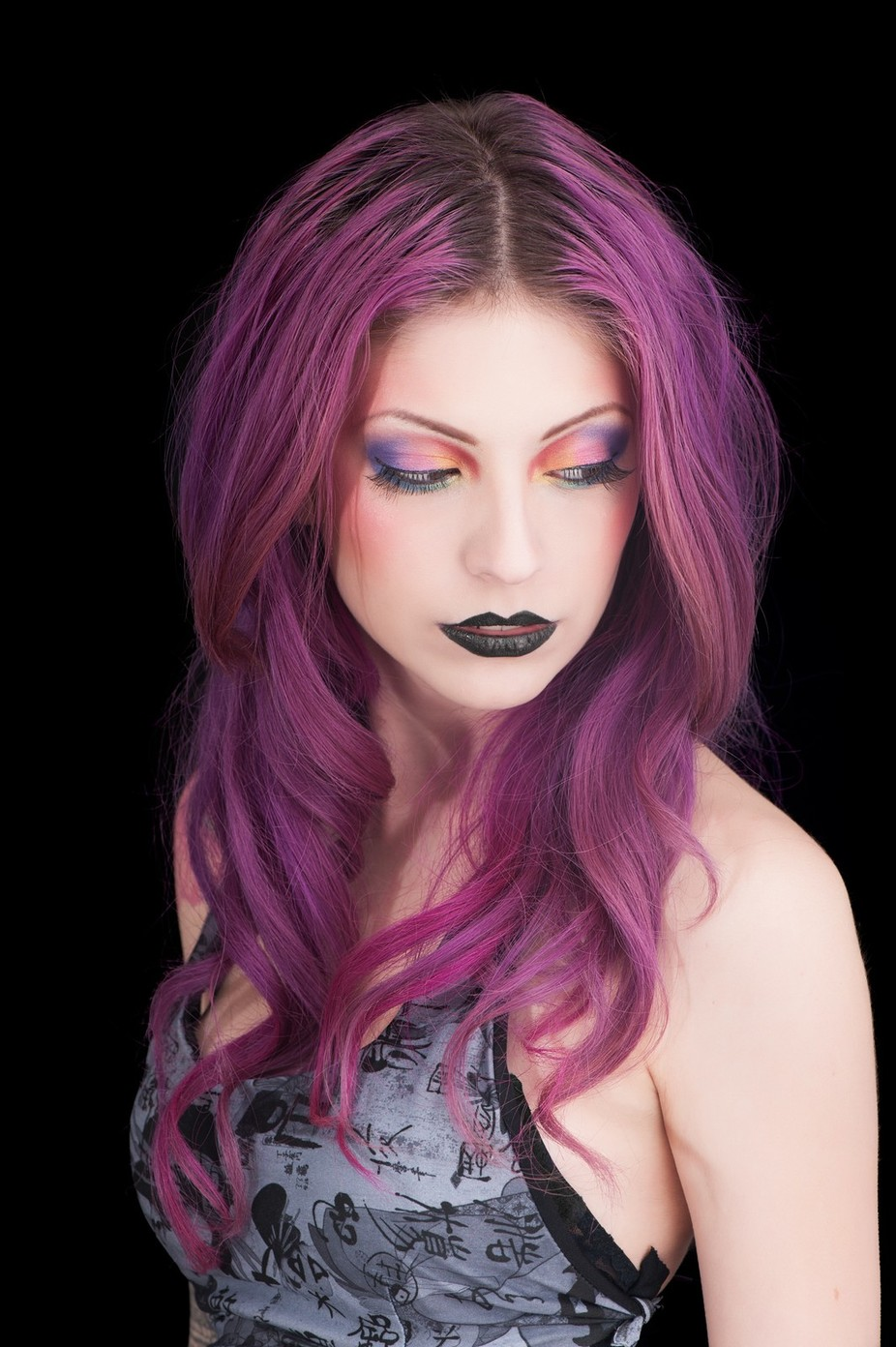 Model: Silhouette D\'Amour  Makeup: Stacey D Makeup Artistry