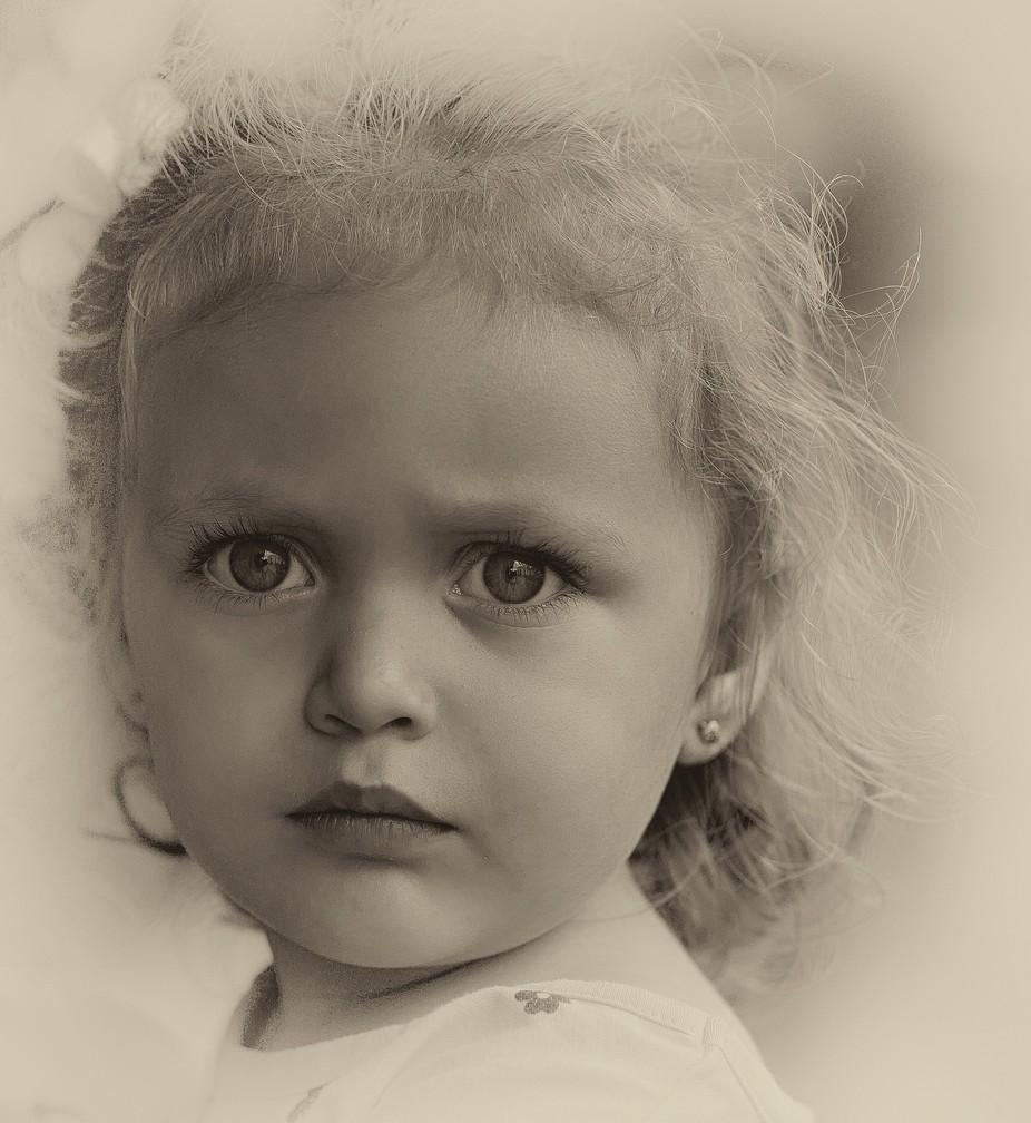 Girl in Honduras