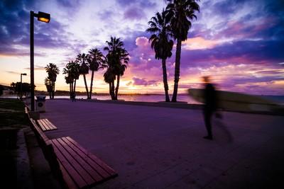 Sunrise at Surfers