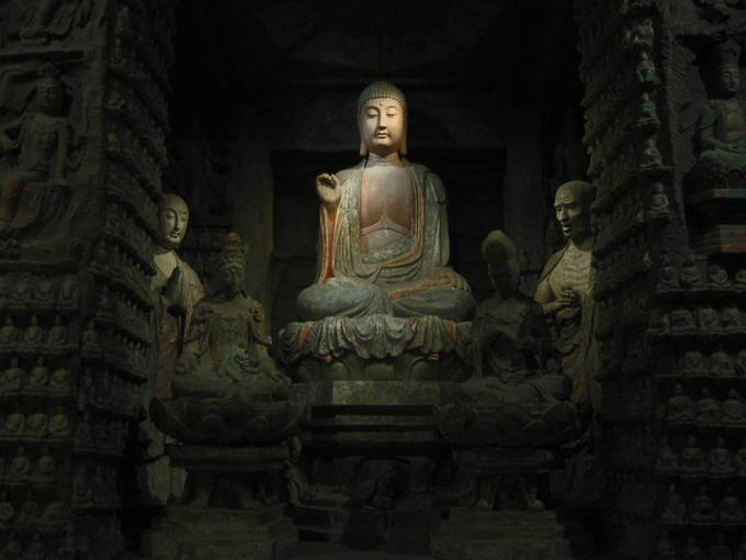 Buddha by ladyincammies - Faith Photo Contest with Scott Jarvie
