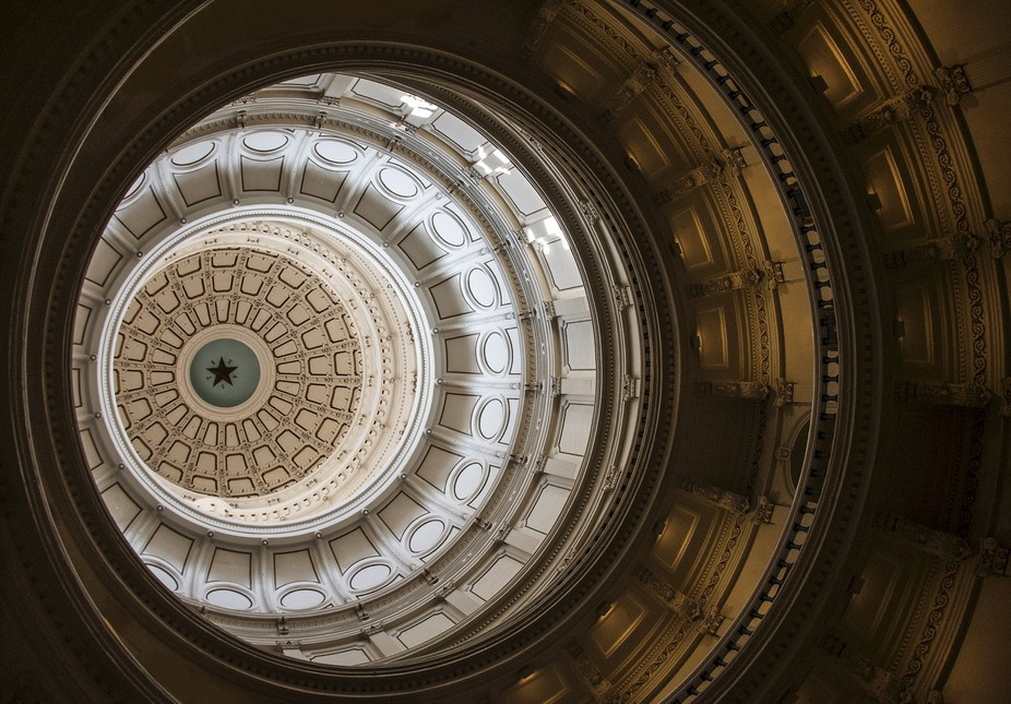the dome at the Texas State Capital