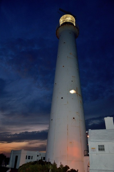 Bermuda Lighthouse by Night