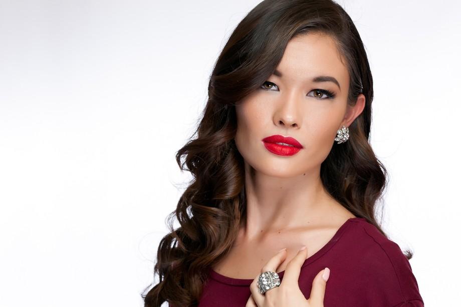 Makeup Artist Summer Johnson, Model Tomoko Peters